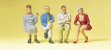 Preiser 63090 Spur I sitzende Reisende 4 Figuren
