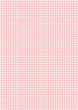 10 PINK GINGHAM BACKING PAPERS  FOR CARD AND SCRAPBOOK MAKING