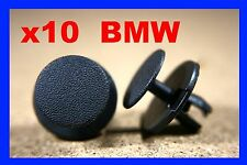 10 BMW 3 Series BONNET HOOD TRUNK Boot isolamento acustico chiusura di bloccaggio Fermo Clip