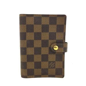 100% Authentic Louis Vuitton Damier Agenda PM Notebook Cover /60998
