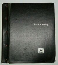 John Deere 6600 Combine Parts Catalog Manual Book & Binder Jd Original! 4/79