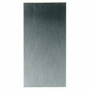 "Wood Cabinet Scraper Carbon Steel 6"" x 3"" Rectangle UK Made W3344"