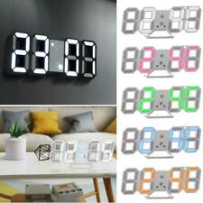 Wall Clocks With Night Light For Sale Ebay