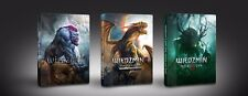 THE WITCHER TRILOGY 1 2 3 GAME OF THE YEAR STEELBOOK G2 PC DVD ENGLISH GOTY NEW