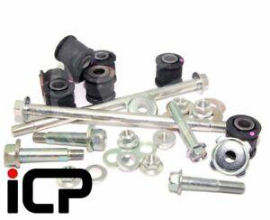 ICP Rear Lateral Link Arm Bush & Bolts Kit Fits: Subaru Impreza 92-07 WRX STi