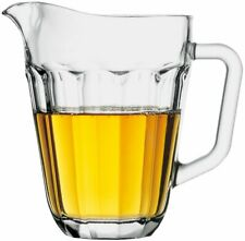 Pasabahce Casablanca Pitcher Jug With Handle 1.3L Glass Beer Pitcher Jug Water