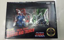 Last Unit! Transformers Mecha Ideas Bluster TFCON 2014 Trench MARIO Luigi  MISB