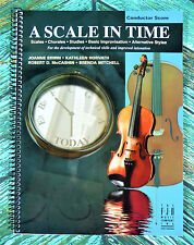 New! A SCALE IN TIME CONDUCTOR SCORE FJH Erwin Horvath McCashin Mitchell SB306CS