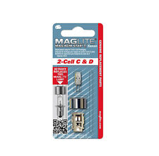 2 Cell D or C MagLite Flashlight XENON Replacement Lamp, Bulb, 1 pce