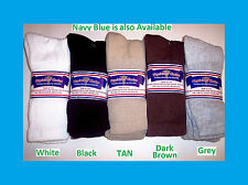 12 PAIRS NWT DIABETIC SOCKS BLACK SIZE 9-11 10-13 13-15 NON- BINDING TOP U.S.A