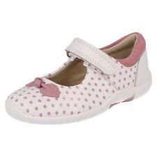 Chaussures blanches larges pour fille de 2 à 16 ans