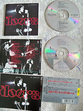 """THE DOORS """"IN CONCERT"""" RARE DOUBLE CD JAPANESE EDITION INCL OBI WMC5 375-6"""