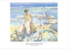 The Yellow Balloon - Dorothea Sharp - Fine Art Giclee Print Poster (50 x 70)