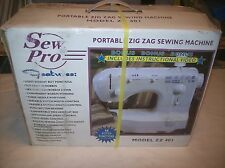 Sew Pro (Zz 401) Portable Zig Zag Sewing Machine New In Box