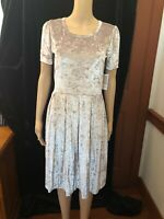 Women's LuLaRoe Amelia Dress, Size M, NWT, Champagne Color