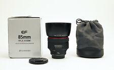 Canon EF 85mm f/1.2 L USM II Lens - EXC!