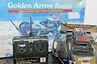 Radio Shack Golden Arrow Frame Buggy R/C Car with Controller 60-4080 UNTESTED
