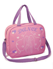 Children's Pink Dance Shoulder Bag with Ballet Shoe Motif-Roch Valley RVLPSB