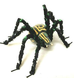 Halloween Spider MicroBead Hand Made Black Chenille Legs