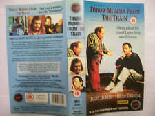 THROW MOMMA FROM THE TRAIN [1987] VHS *SLEEVE ONLY* – Virgin Film Collection