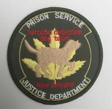 New Zealand Prison Service Narcotic Detection Dog Team old shoulder patch