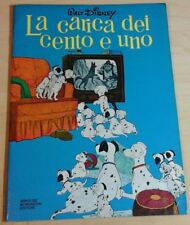 walt disney LA CARICA DEI CENTO E UNO 1978 gli albi d'oro Mondadori 101 centouno