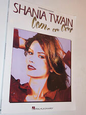 SHANIA TWAIN piano COME ONE OVER vocal guitare PARTITION sheet music SONGBOOK