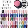 LEMOOC 180 Solid Color Gel Nail Art Soak Off UV LED Gel Polish Buy 3 Get 3 Free!