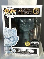 MINT NEW Funko POP! 84: NIGHT KING W/ DAGGER - Game of Thrones GOT - GITD Glow