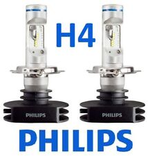 1 pr H4 Philips Ultinon LED Globes Bulbs 12v 24v +160% Brighter