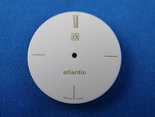 Atlantic Watch Dial Part 28.5mm -White Dial- Swiss Made -Latin number-  #276