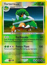Torterra Reverse Holo Rare Pokemon Card DP5 Majestic Dawn 30/100