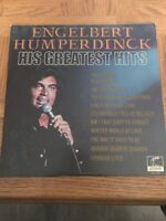 Vinyl Record LP Album ENGELBERT HUMPERDINCK HIS GREATEST HITS