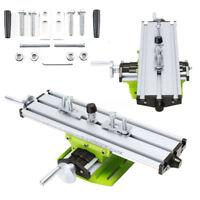 Compound Worktable Cross Slide Bench Drilling Milling Vise Working Table Set