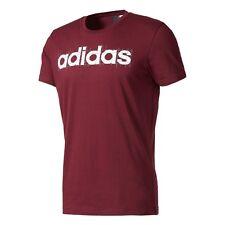 Camisetas de hombre de manga corta adidas color principal rojo