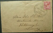 CANADIAN EXPEDITIONARY FORCE 18 JAN 1915 FIELD PO COVER TO SUSSEX, ENGLAND