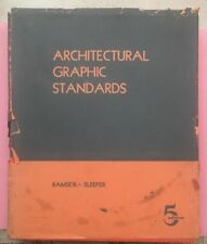 RA197 Vintage 1961 Hardcover Book Architectural Graphic Standards