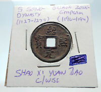 1190AD CHINESE Southern Song Dynasty Genuine GUANG ZONG Cash Coin CHINA i75245