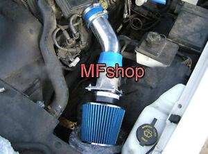 Blue For 1992-1995 Lincoln Town Car 4.6L V8 Air Intake System Kit + Filter