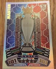 MATCH ATTAX 11/12 MASTER  TROPHY CARD ULTRA RARE