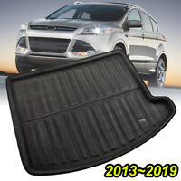 Rear Trunk Boot Mat Cargo Liner Floor Tray Carpet For Ford Kuga Escape 2013-2019