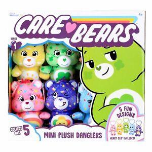 "Care Bears 7"" Mini Plush Danglers Assortment"