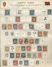 NORWAY: Collection of 465+ on Minkus/Harris Pages - Start to @1988