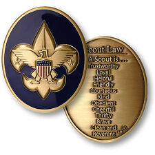 Boy Scouts - Scout Law - Challenge Coin