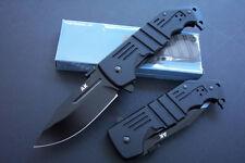 8.5'' New 440C Blade Aluminium Handle  Spring Assisted  Pocket Folding Knife D16