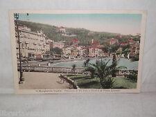 Vecchia cartolina foto d epoca di S Margherita Ligure panorama Via Sella Colombo