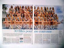 COUPURE DE PRESSE-CLIPPING : MISS France 2017 [5pages] 12/2016 à La Réunion,TF1
