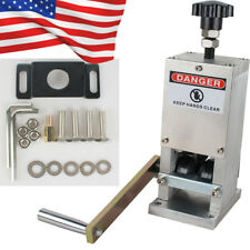 US Manual Wire Stripping Machine Copper Cable Peeling Stripper w/Drill Connector