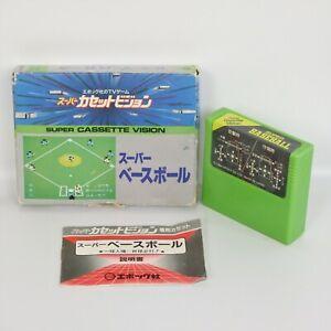 Super Cassette Vision SUPER BASEBALL 3220 Japan Game cv