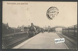 Postcard Maud Railway Station from South End in Aberdeenshire Scotland 1905
